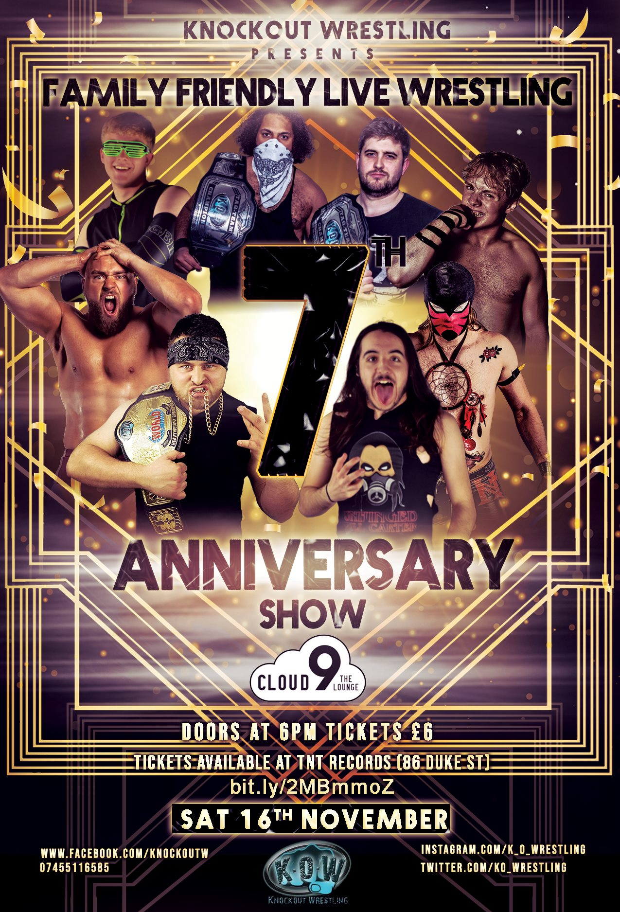 Knockout Wrestling presents 7th Anniversary Show