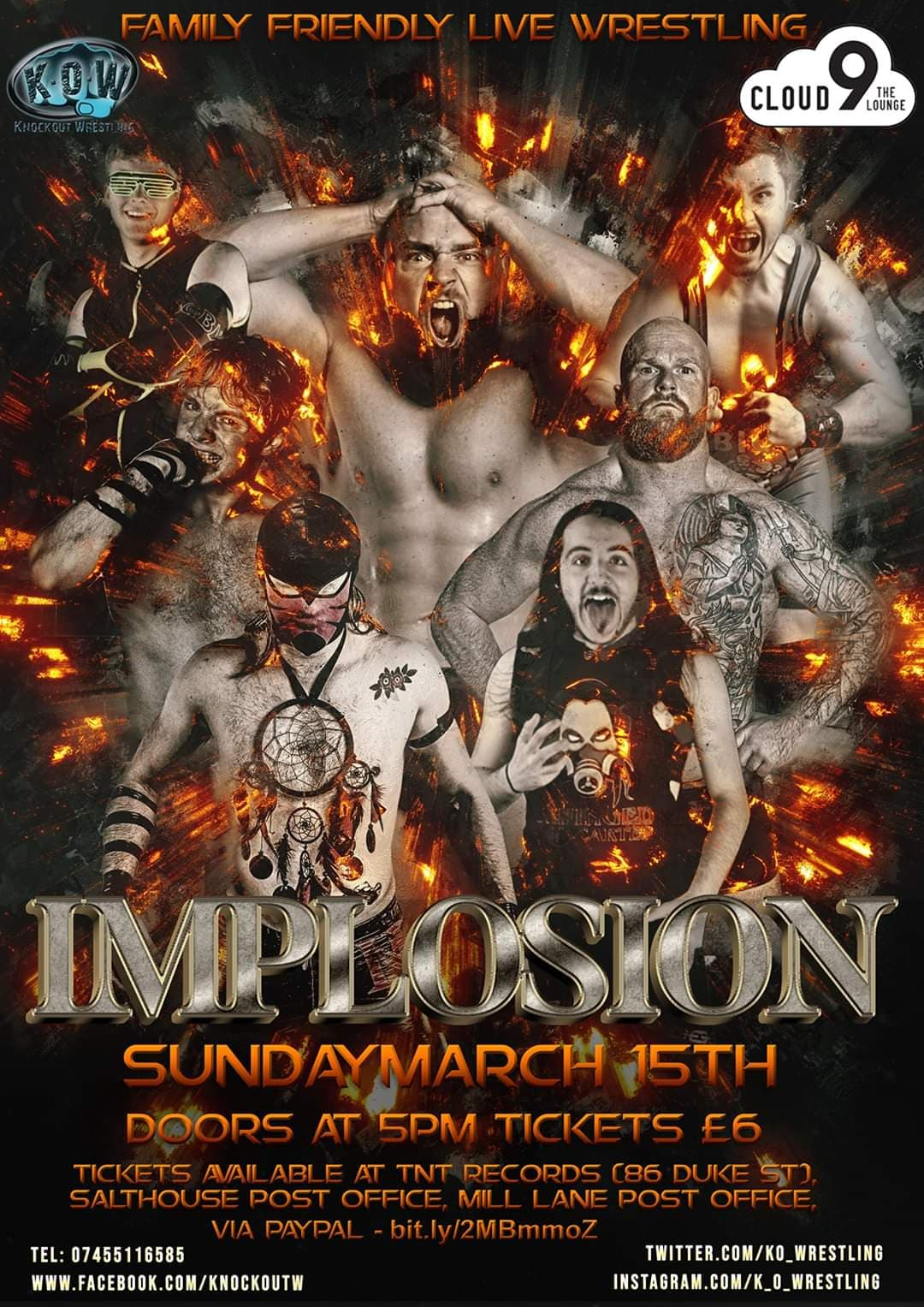 Implosion - Family Friendly Wrestling Live